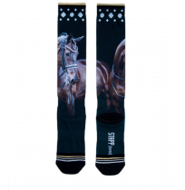 Kneehigh StappHorse brown horse Bailey printed